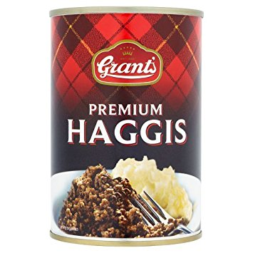 Haggis in a can